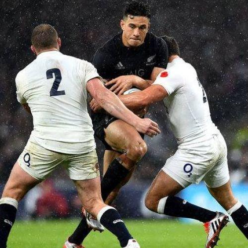 Meci-test Anglia-Noua Zeelandă în noiembrie 2018