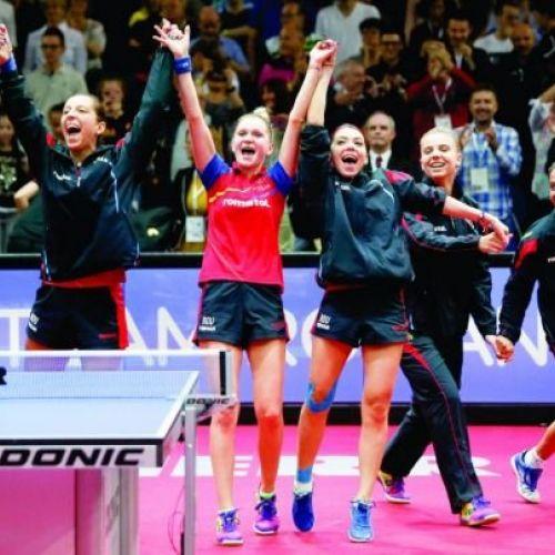 MTS a anunțat cu cât va premia campioanele europene la tenis de masă