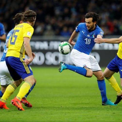 Italia, eliminată de Suedia din drumul spre Cupa Mondială