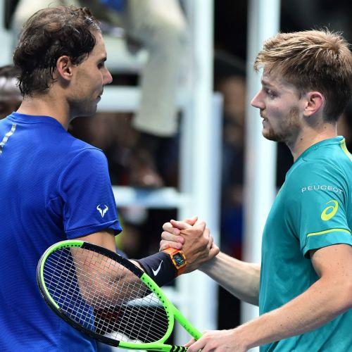 Nadal, învins de Goffin la Turneul Campionilor, după care s-a retras