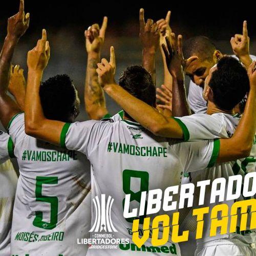 VIDEO / Chapecoense a prins un loc în Copa Libertadores la un an după tragedia aviatică de la Medellin