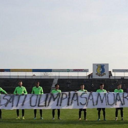 Liga 2: Olimpia Satu Mare, mari probleme financiare. Șanse mici să continue în retur