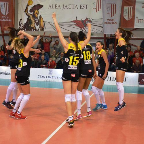 Volei Alba Blaj, a doua victorie la rând în grupele Ligii Campionilor