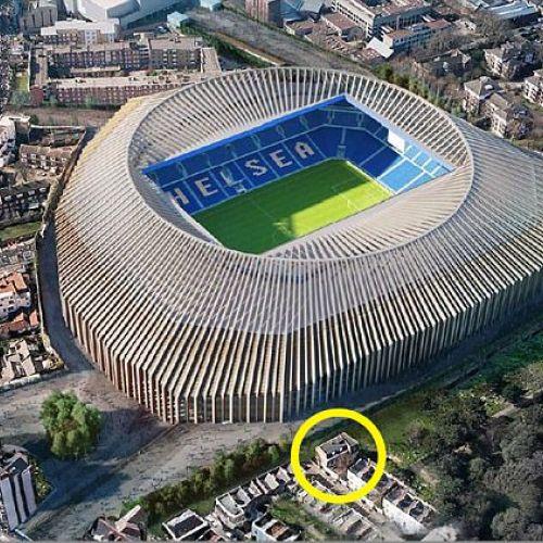 Inedit / Noul stadion al lui Chelsea, boicotat de o familie din vecinătatea arenei