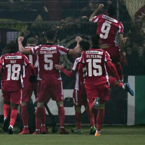 Spectacol ofensiv la Chiajna. Dinamo o învinge pe Concordia și se află pe loc de play-off