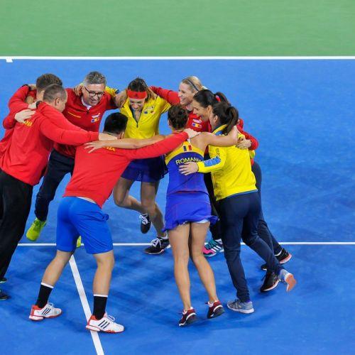 Fed Cup: România va înfrunta Elveția în barajul de promovare în Grupa Mondială