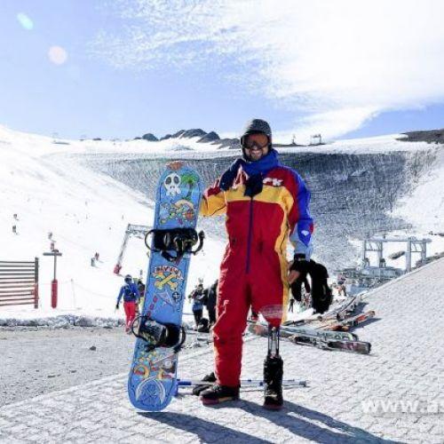 VIDEO / Mihăiță Papară, singurul reprezentant al României la Jocurile Paralimpice de iarnă