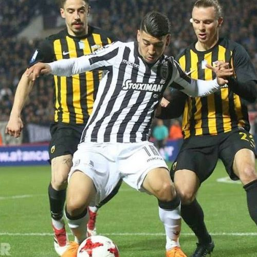 Controverse din nou în Grecia. PAOK Salonic-AEK Atena întrerupt în minutul 90