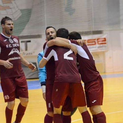 Deva a învins Informatica Timișoara în derby-ul Ligii 1 la futsal