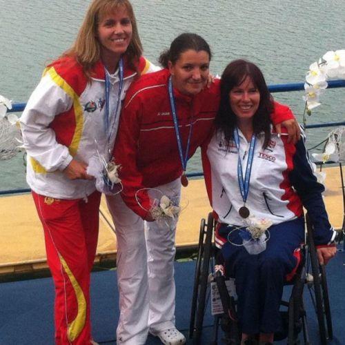 Paralimpicii români au cucerit două titluri europene la paracanoe