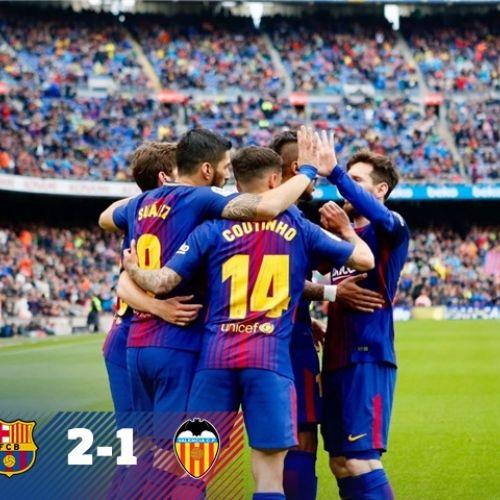 Barcelona scrie istorie în campionat: 39 de meciuri consecutive fără înfrângere
