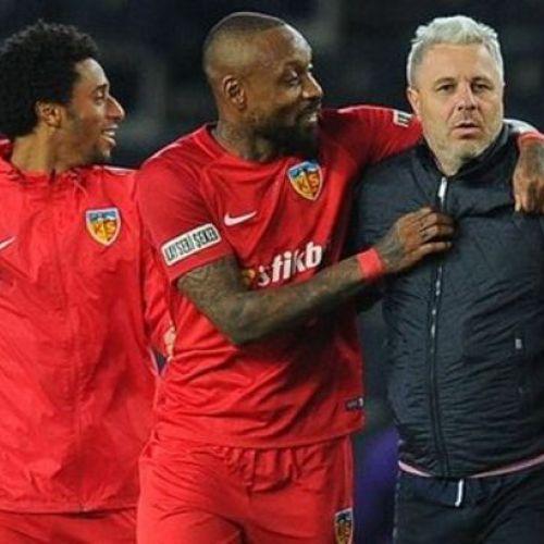 Marius Șumudică, victorios în campionatul Turciei prin golurile lui Boldrin și De Amorim
