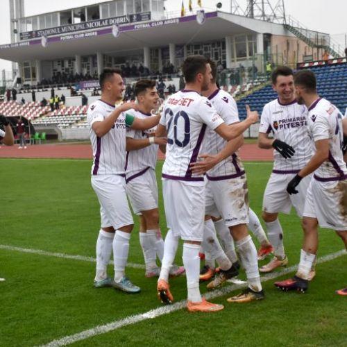 Liga II: Show total la Târgoviște. FC Argeș se impune si reaprinde lupta pentru locul de baraj