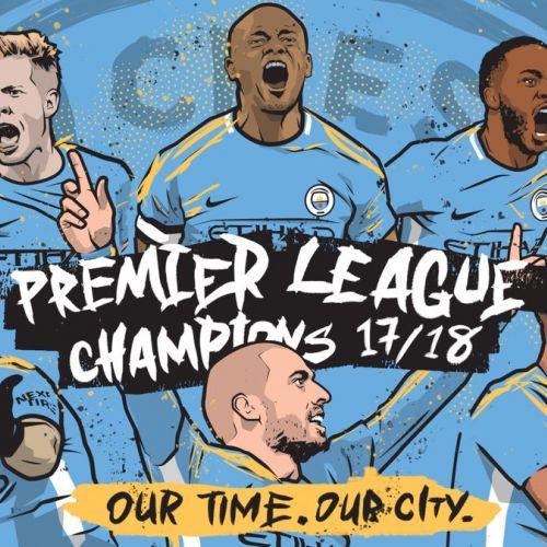 Manchester City, matematic campioană în Premier League