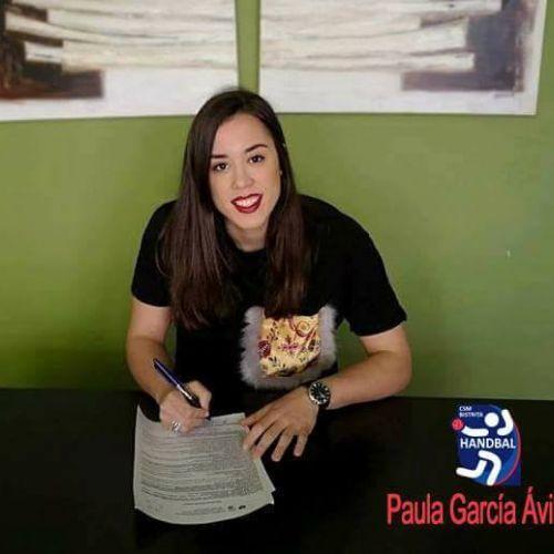 CSM Bistrița a transferat-o pe handbalista Paula Garcia Avila