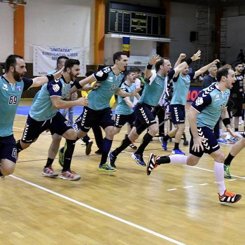 Thriller handbalistic ! Steaua s-a calificat spectaculos în finala Ligii Zimbrilor