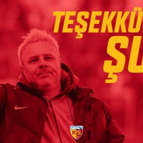 Marius Șumudică și-a reziliat contractul cu Kayserispor