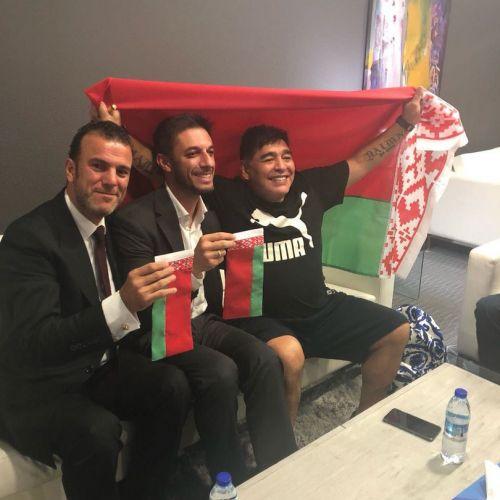 Maradona trece de la antrenorat la munca de birou. E noul președinte la Dinamo Brest