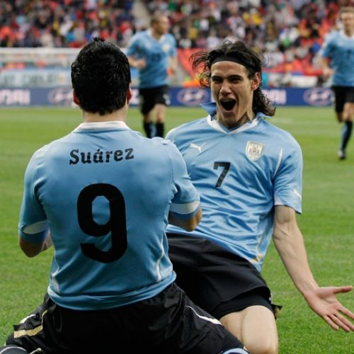 Uruguay abordează Cupa Mondială cu un atac Suarez-Cavani