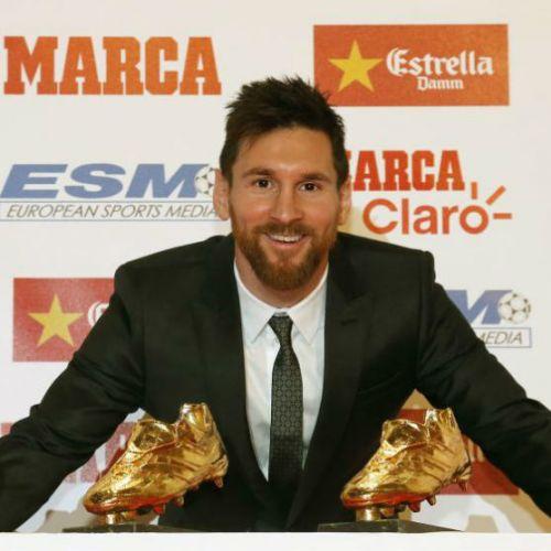 Lionel Messi a câştigat Gheata de Aur pentru a cincea oară