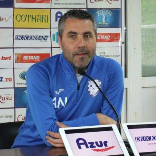 Adrian Neaga și-a reziliat contractul cu ACS Poli Timișoara