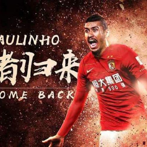 Paulinho se întoarce în China la doar un an după transferul la Barcelona