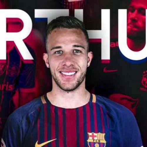 FC Barcelona a oficializat achiziționarea brazilianului Arthur