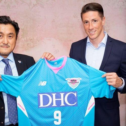 Fernando Torres va juca în campionatul Japoniei