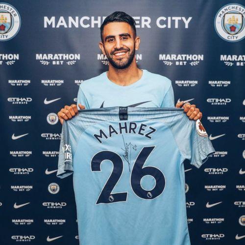 Oficial: Riyad Mahrez este noul jucător al lui Manchester City