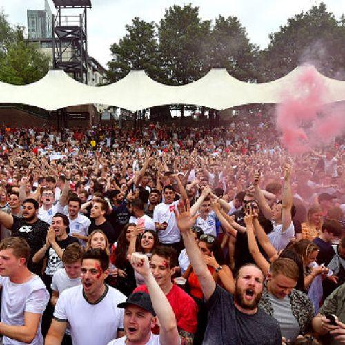 VIDEO / Emoții contrastante pentru fanii croați și cei englezi în semifinala Cupei Mondiale