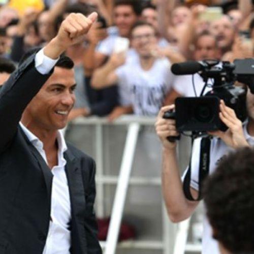 Ziua CR7 la Torino. Cristiano Ronaldo a acaparat atenția presei din Italia