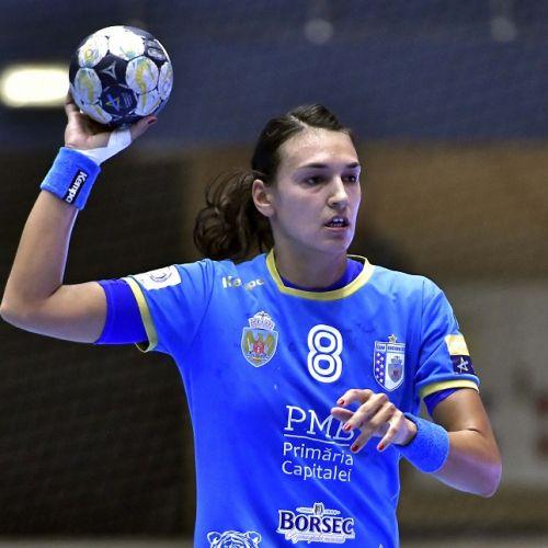 CSM București a învins Buducnost în primul amical al sezonului