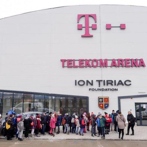 Paradoxul românesc. Linia de tren pentru Euro 2020 va trece prin patinoarul Telekom Aren, susține Ion Țiriac
