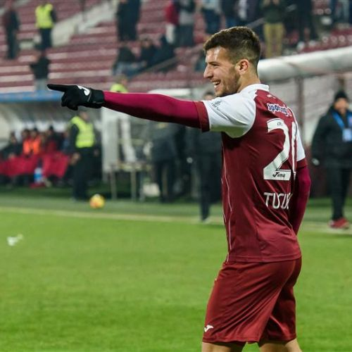 Play-off la orizont. CFR Cluj a câștigat la Erevan, cu 2-0, în Europa League