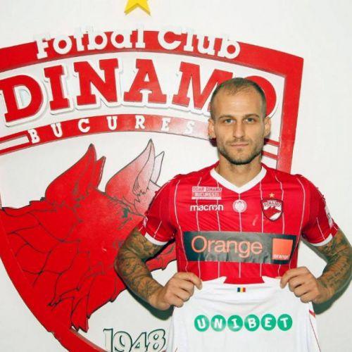 Dinamo l-a cooptat pe atacantul Danijel Subotic