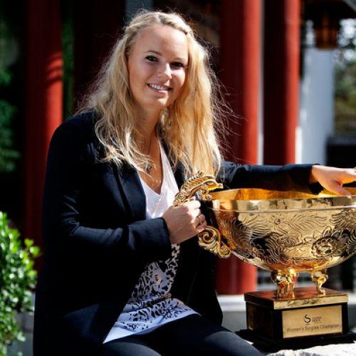 Caroline Wozniacki, campioană la Beijing. Daneza s-a apropiat de Halep în clasamentul WTA