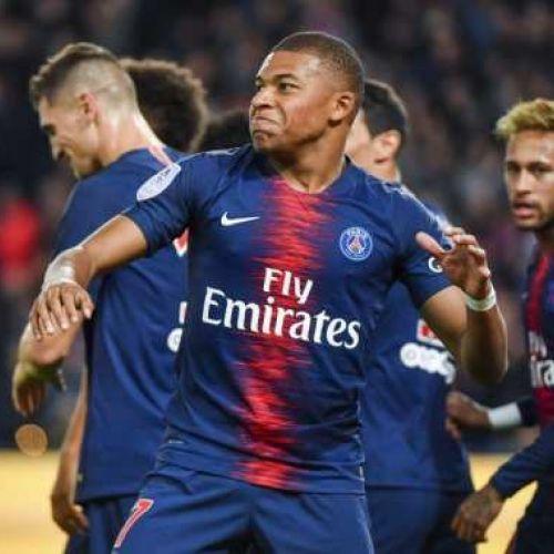 Ninja Mbappe ! Francezul a marcat 4 goluri în 13 minute
