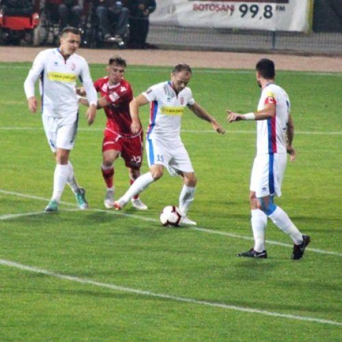 Dinamo se duce spre zona retrogradării după un eșec la Botoșani