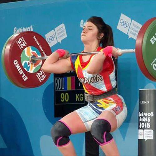 Mihaela Valentina Cambei, bronz la Jocurile Olimpice pentru Tineret