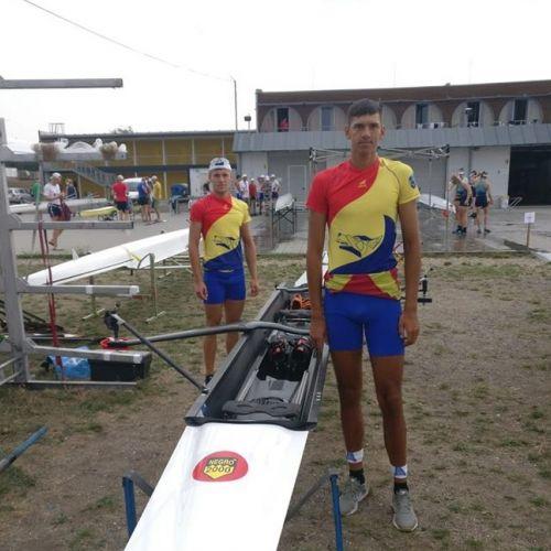 Florin Arteni Fîntînariu şi Laurenţiu Alexandru Danciu, argint la JO de Tineret la dublu rame