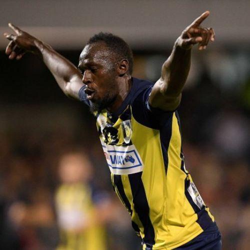 Usain Bolt a înscris primele goluri pentru o echipă profesionistă de fotbal