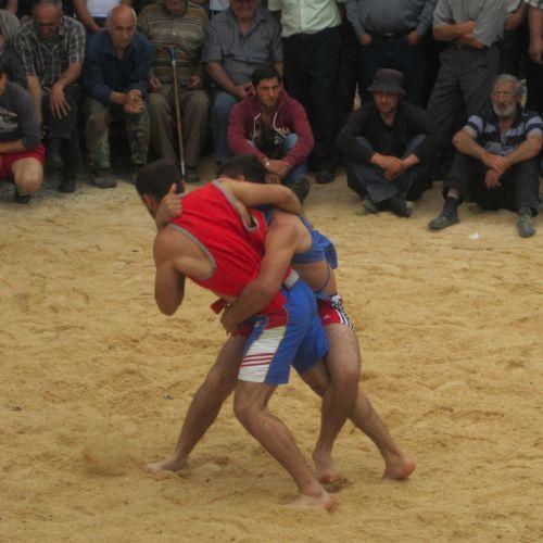 VIDEO / Chidaoba, un stil de lupte tradiţional georgian, a fost inclus în patrimoniul UNESCO