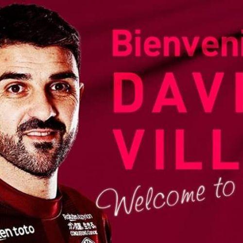 David Villa li se alătură lui Andres Iniesta și Lukas Podolski la Vissel Kobe în Japonia