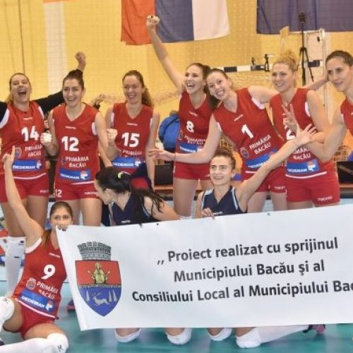 Voleibalistele de la Ştiinţa Bacău s-au calificat în optimile de finală ale Cupei CEV