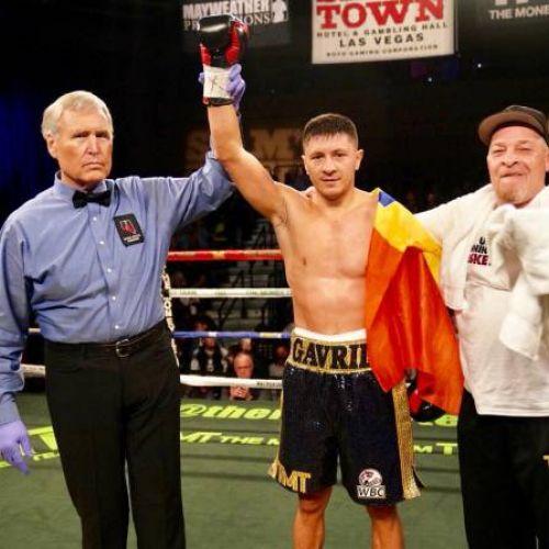 Victorie pentru Ronald Gavril, într-o gală din Las Vegas