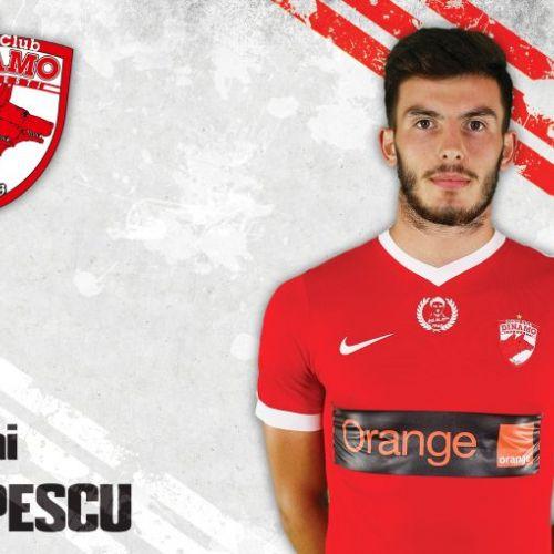 Fundașul Mihai Popescu, împrumutat de Dinamo în Scoția