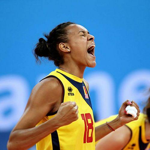 Calificare de infarct pentru naționala feminină de volei a României la Campionatul European