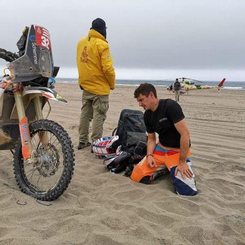 Emanuel Gyenes a abandonat la Raliul Dakar