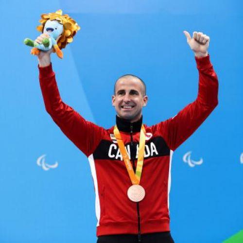 Multiplul campion paralimpic Benoit Huot se retrage după două decenii de activitate