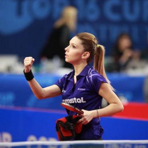 Bernadette Szocs, argint la  ITTF Europa Top 16 de la Montreux